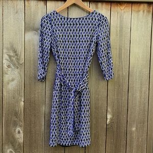 Boden Dress, Geometric Pattern, 2A
